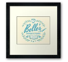 Belle's Bookstore // Beauty and the Beast Framed Print