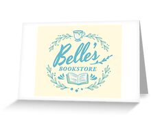 Belle's Bookstore // Beauty and the Beast Greeting Card