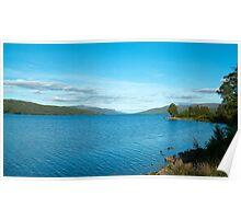 Loch Rannoch looking East Poster