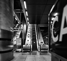 Canary Wharf Tube by Lea Valley Photographic