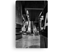 Canary Wharf Tube Canvas Print