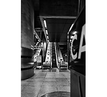 Canary Wharf Tube Photographic Print