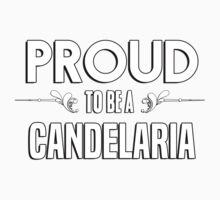 Proud to be a Candelaria. Show your pride if your last name or surname is Candelaria Kids Clothes