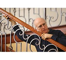 Curb your larry david Photographic Print