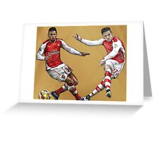 Coquelin & Alexis Greeting Card