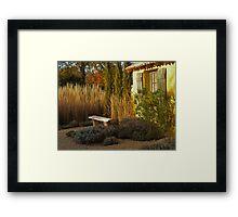 Le Jardin de Vincent Framed Print