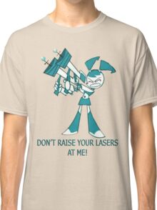 Teenage Robot - Raise Your Lasers Classic T-Shirt