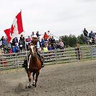 Galloping Flag by Al Bourassa
