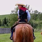 Young Cowboy by Al Bourassa
