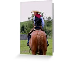 Young Cowboy Greeting Card