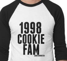 Adelaine Morin Cookie Fam Men's Baseball ¾ T-Shirt