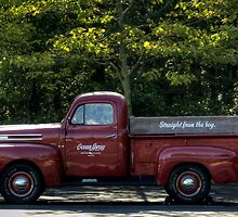 Ocean Spray Truck by Monica M. Scanlan