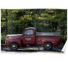 Ocean Spray Truck Poster