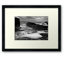 Swirlpool Framed Print