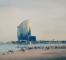 BCN Beach by Nicolas Noyes