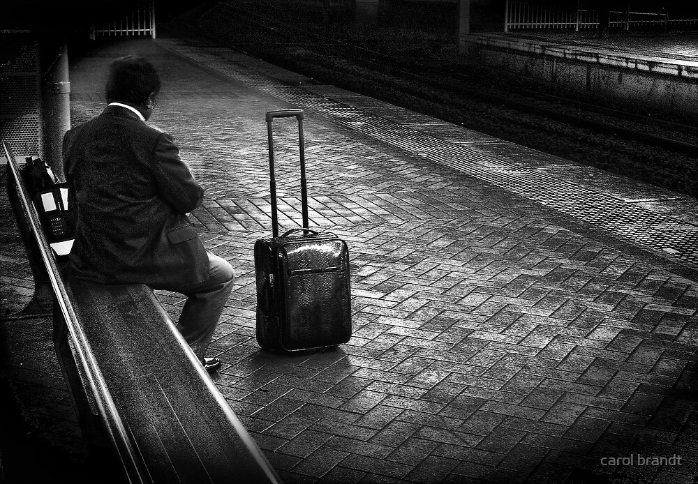 late commuter by carol brandt