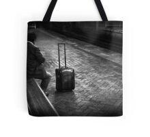 late commuter Tote Bag