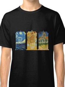 Vincent and The Doctor (Black) Classic T-Shirt