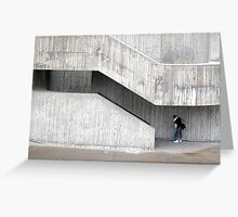 Concrete Kiss Greeting Card