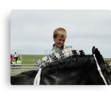 Horse Dresser Canvas Print