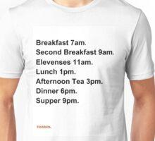 Hobbit Meal Times Unisex T-Shirt