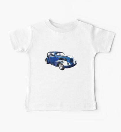 1937 Blue Pontiac Sedan classic car Baby Tee