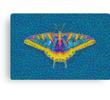 BUTTERFLY SINGS WITH ITS WINGS Canvas Print