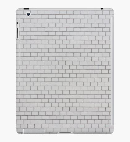 white pattern - brick wall texture  iPad Case/Skin