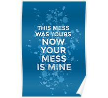 Vance Joy - Mess Is Mine Poster