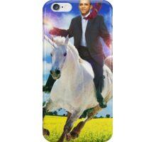 Obama unicorn win iPhone Case/Skin