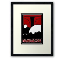 Mandalore Art Deco Framed Print
