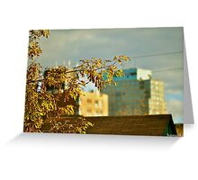 September Ends - Fall Once Again Greeting Card