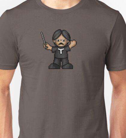 Nobuo Uematsu Pixelart Unisex T-Shirt