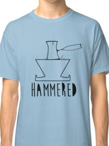 'HAMMERED' Simple but cool Grunge Rock Design Classic T-Shirt