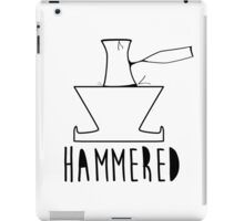 'HAMMERED' Simple but cool Grunge Rock Design iPad Case/Skin