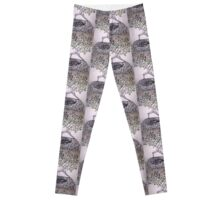Exalted warrior pose Leggings