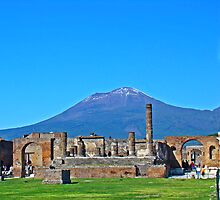 Pompeii & Vesuvius VIII by Al Bourassa