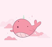 Tiny Floating Whale // Steven Universe by hocapontas