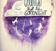 Glow Cloud ~ Goodnight, Night Vale by booklils