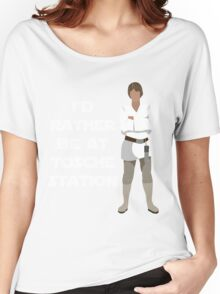 I'd Rather be at Tosche Station Women's Relaxed Fit T-Shirt