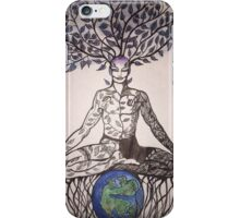 Padmasana iPhone Case/Skin