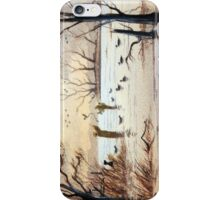 Setting Out The Decoys II iPhone Case/Skin
