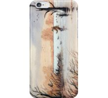 Setting Out The Decoys I iPhone Case/Skin