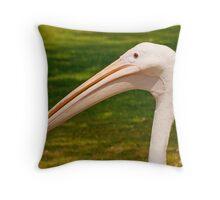 Pelican Head Throw Pillow