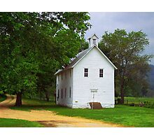 Lone Church, Boxley River Valley, Arkansas Photographic Print