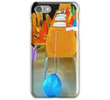 Coming to the Party iPhone Case/Skin