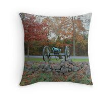 Civil Cannon Throw Pillow