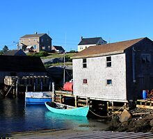 Peggys Cove at Dusk by HALIFAXPHOTO