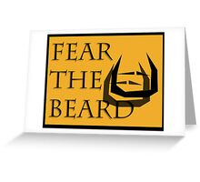 Fear The Bread Greeting Card