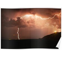 Giglio Thunderstorm Poster